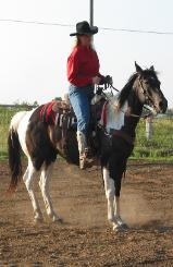 Janel Brookshire western riding lessons