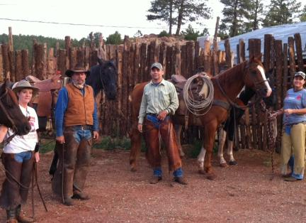 Cattle drives and workings are part of what we do - and we show you how